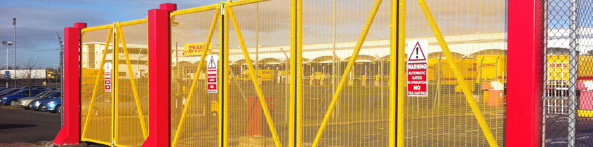 Automatic Bi-Folding Gates