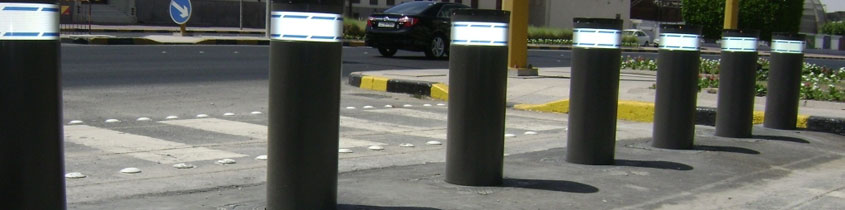 Anti-Terrorism Crash Tested Automatic Bollards Middle East & Africa