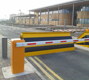 Anti-Terrorism Crash Tested Road Blockers
